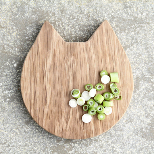 Animal Shaped Cutting Board - Cat