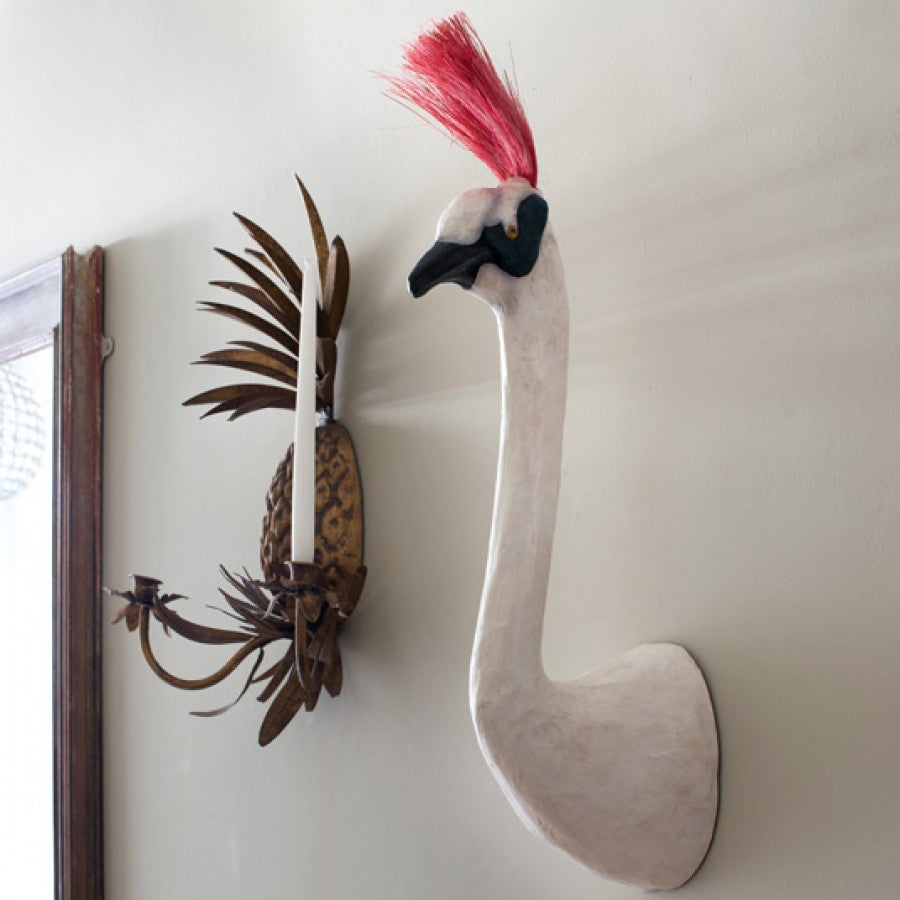 crane wall decoration