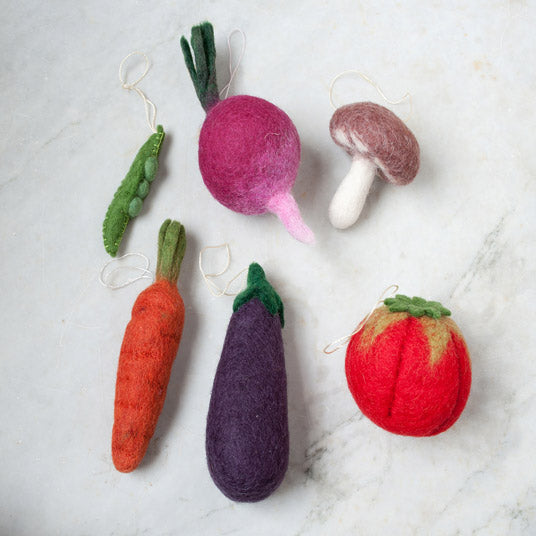 vegetable decorations