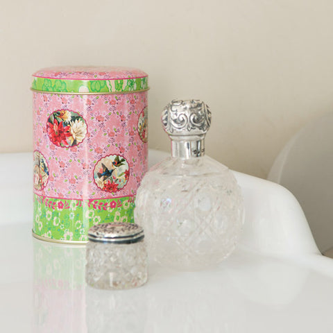 Storage Tins - Floral Design