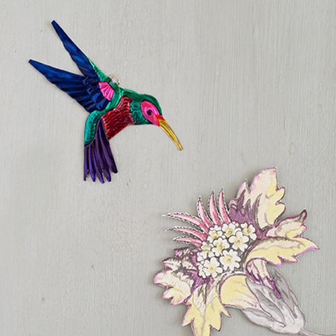 hummingbird wall decoration