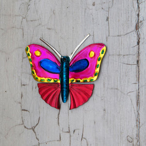 metal butterfly decoration