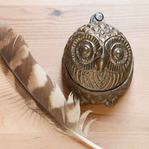 Owl trinket box