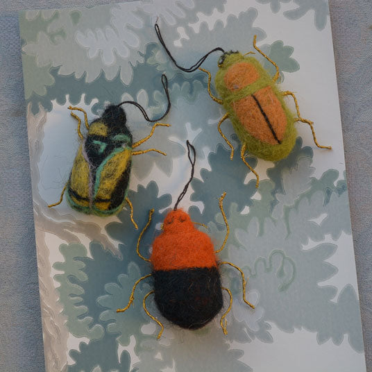 beetle tree decorations