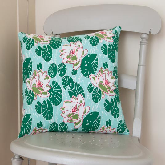 Water Lilies Cushion