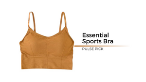 Pulse Athletic Apparel Women's Essential Sports Bra