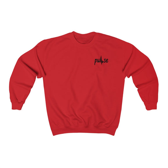 Printed Pulse Crewneck Sweatshirt
