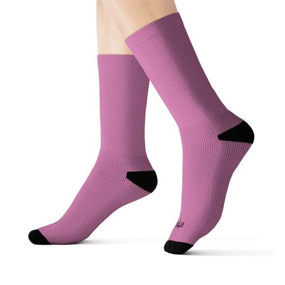 Pink Pulse Socks
