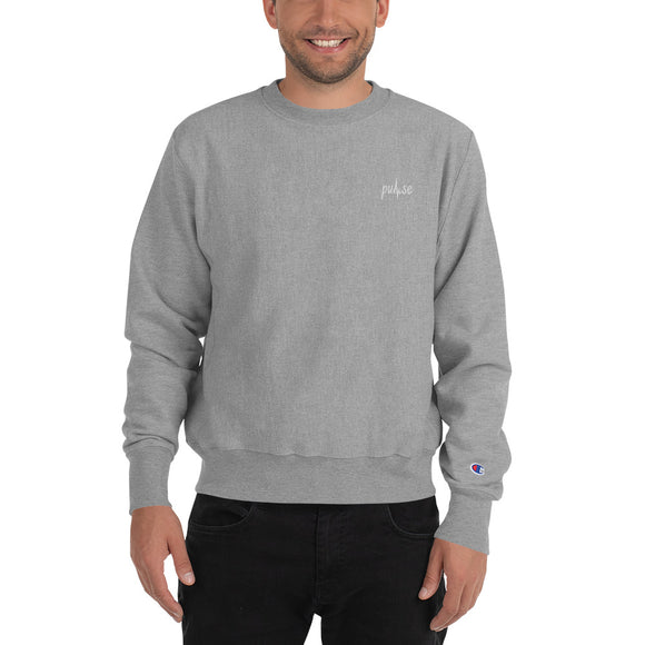 Embroidered Pulse Crewneck Sweatshirt