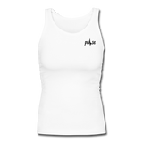 Women's  Fitted Tank - white
