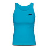 Women's  Fitted Tank - turquoise