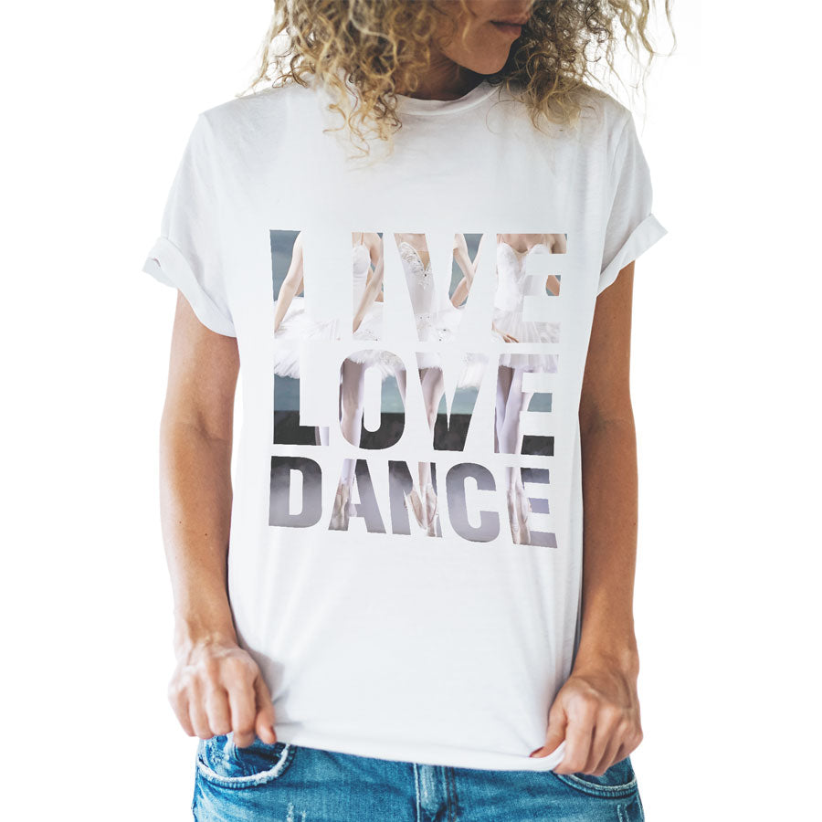 Live Love Dance Tshirt