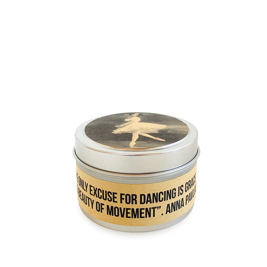 Load image into Gallery viewer, Anna Pavlova Ballet Candle in a Tin