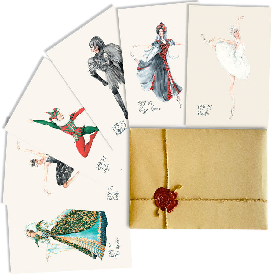 Swan Lake Ballet Postcard Set