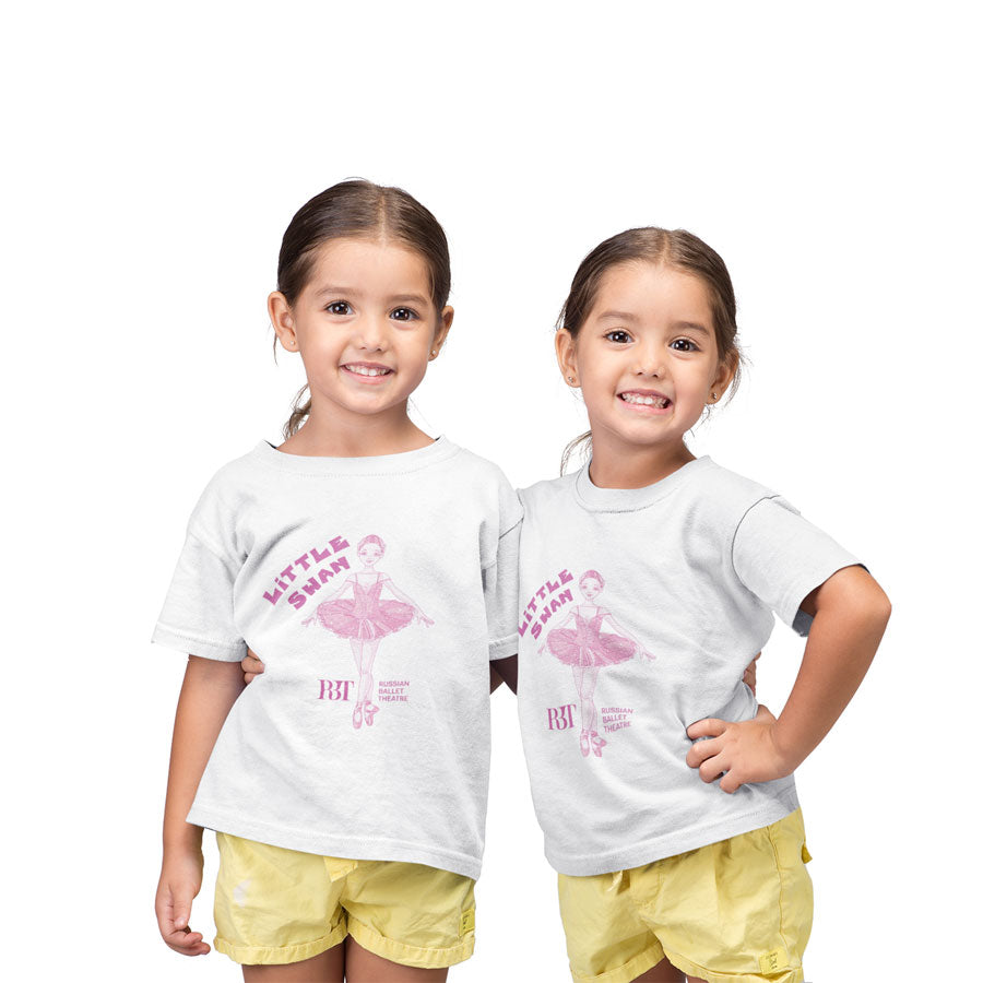 Kids Ballet T-shirt Little Swan