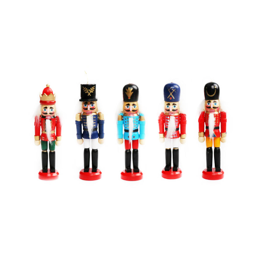 nutcracker christmas ornament set