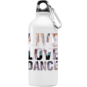 Water Bottle Live Love Dance Iron flask
