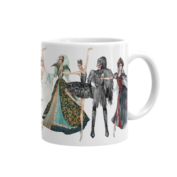 Load image into Gallery viewer, Swan Lake tea mug
