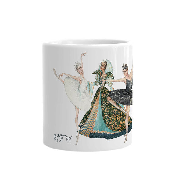 Load image into Gallery viewer, swan lake mug
