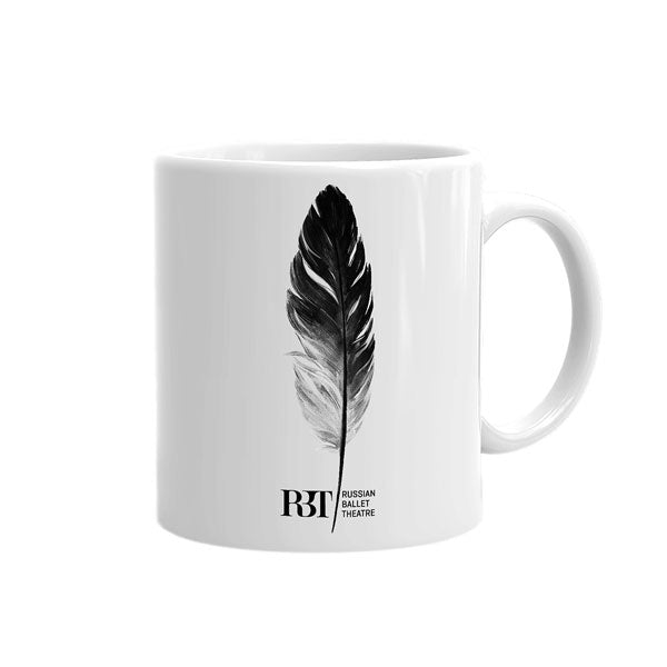 Ballet Mug - Swan Lake Feather