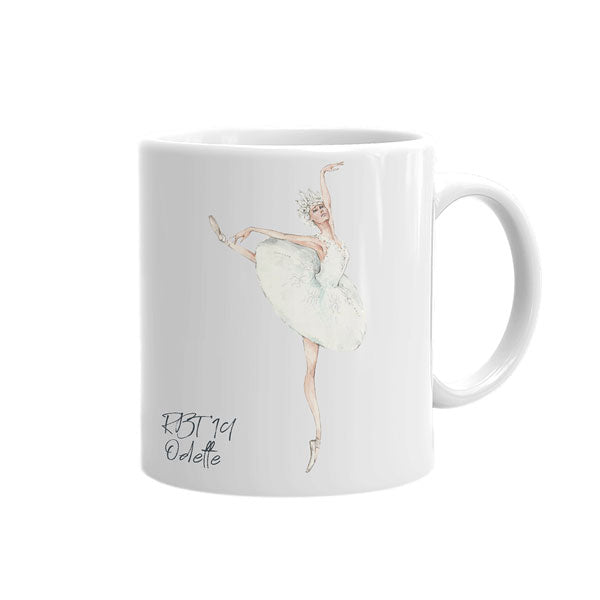 Load image into Gallery viewer, tea mug White Swan