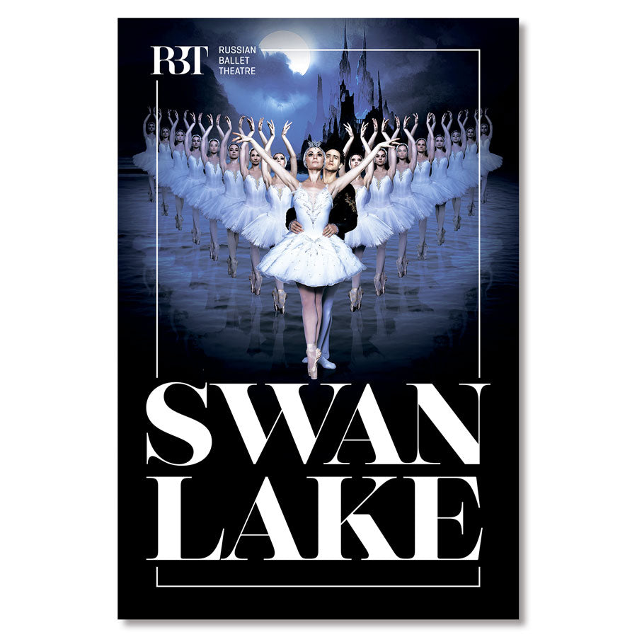 Load image into Gallery viewer, Swan Lake poster