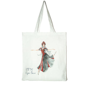 Load image into Gallery viewer, dancers tote bag