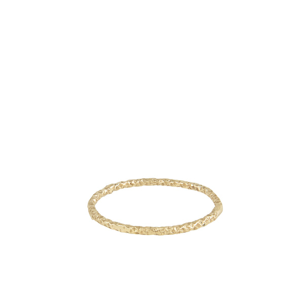 simple gold wedding band 1mm