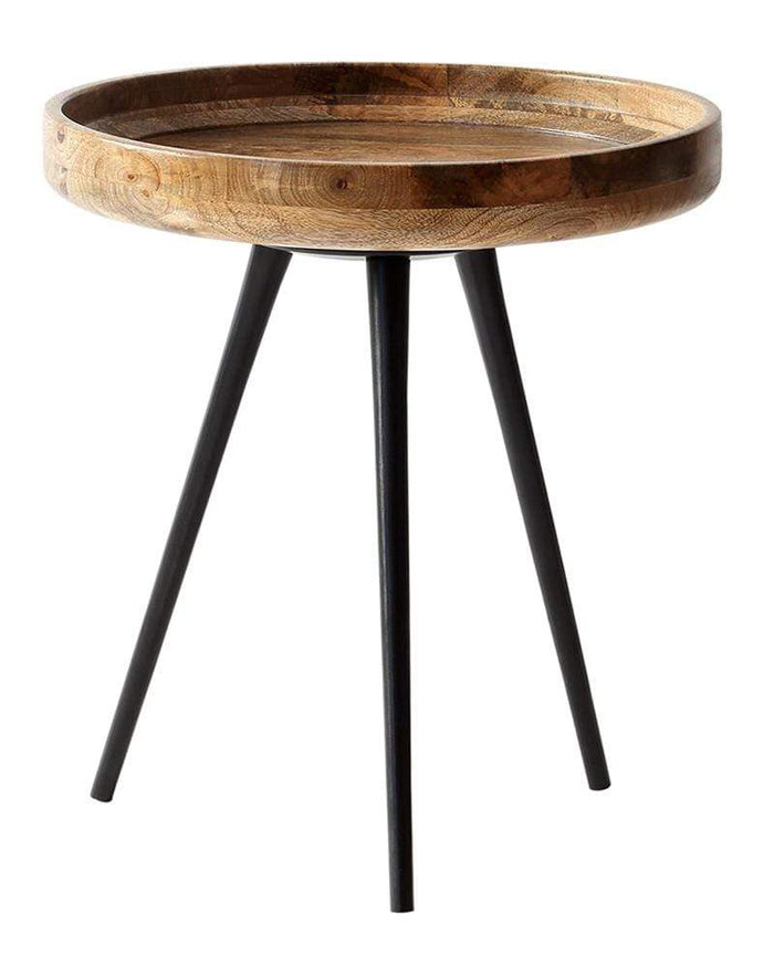 elevenpast 35cm x 40cm Aspen Side Table Natural