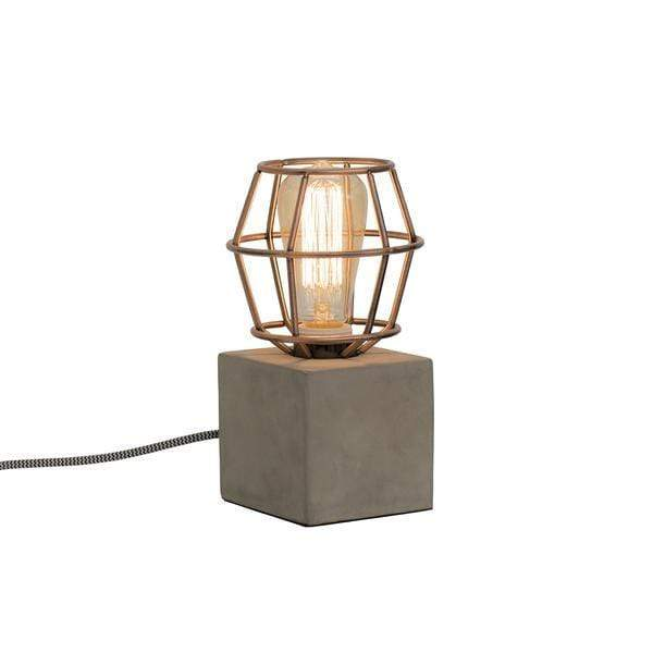 elevenpast Accessories Copper Concrete Work Lamp