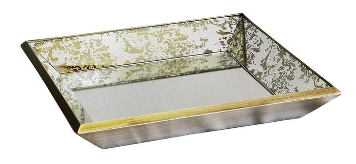 elevenpast Accessories GLASS MIRROR TRAY