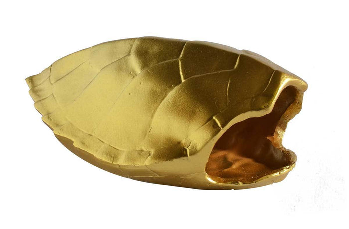 elevenpast Accessories Gold RESIN TURTLE SHELL