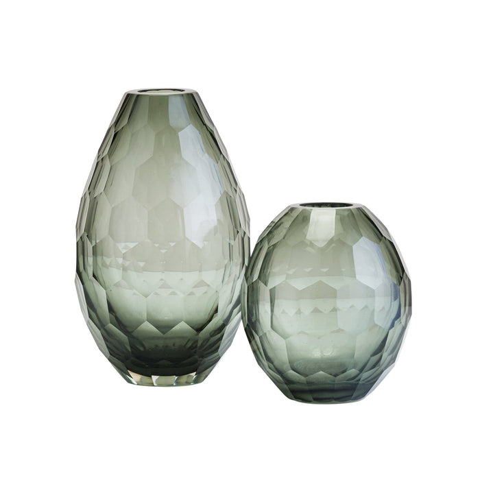 elevenpast Accessories Honeycomb Glass Vase