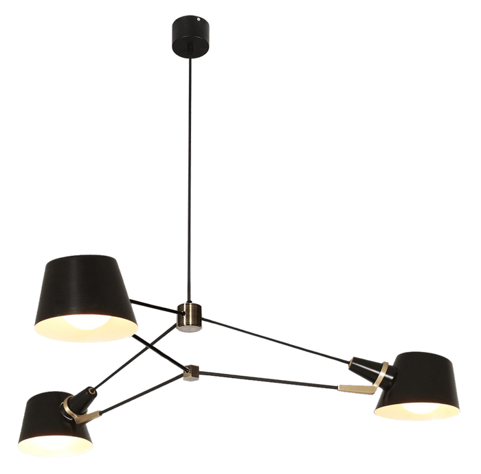 elevenpast Acro Pendant 3 Light