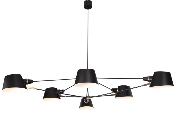 elevenpast Acro Pendant 6 Light