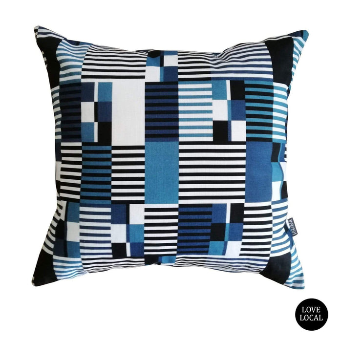 elevenpast Atlantic Kente Scatter Cushion