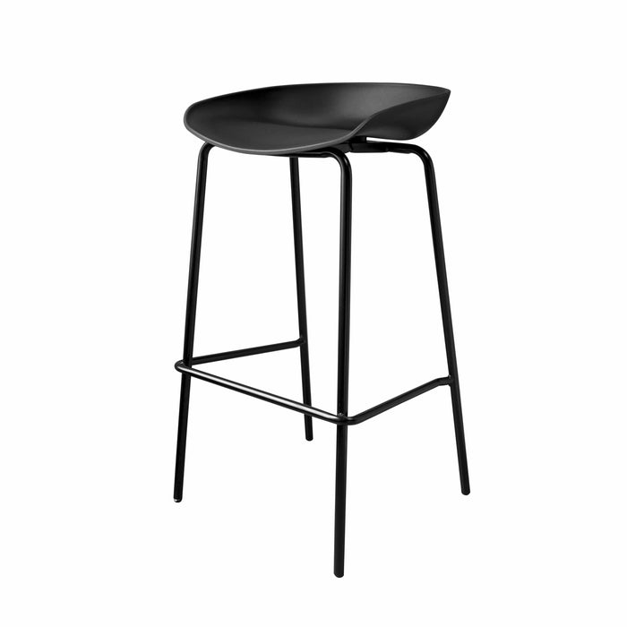 elevenpast Bar stool Replica Hay Bar Stool Metal Frame