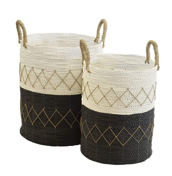 elevenpast baskets DIAMOND BASKET MONOCHROME