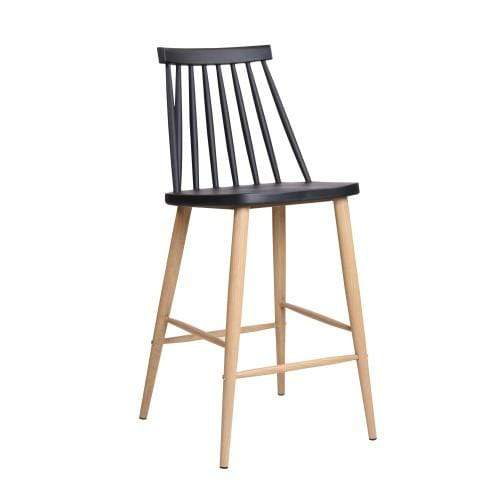 elevenpast Black Cafe Kitchen Chair