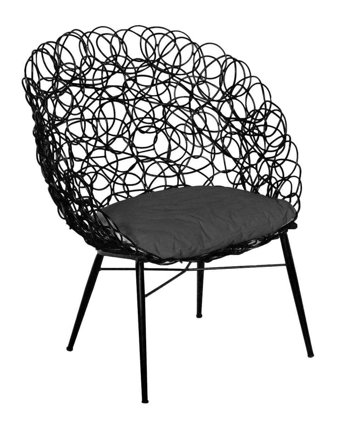 elevenpast Black Noodle Chair