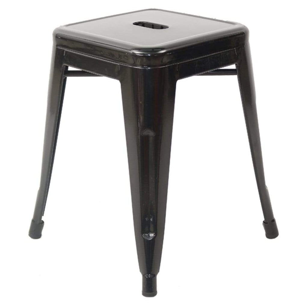 elevenpast Black Replica Tolix Stool