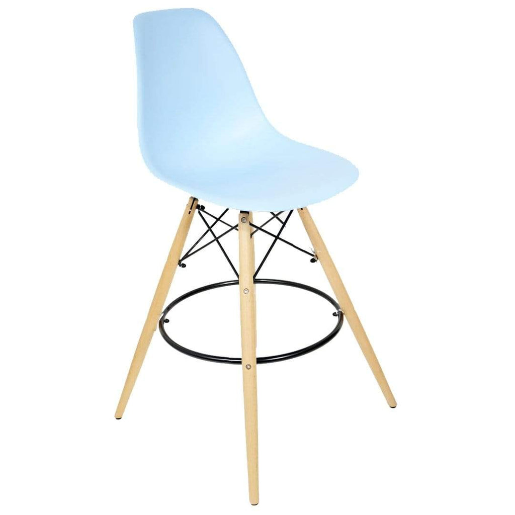 elevenpast Blue Replica Eames Bar Stool