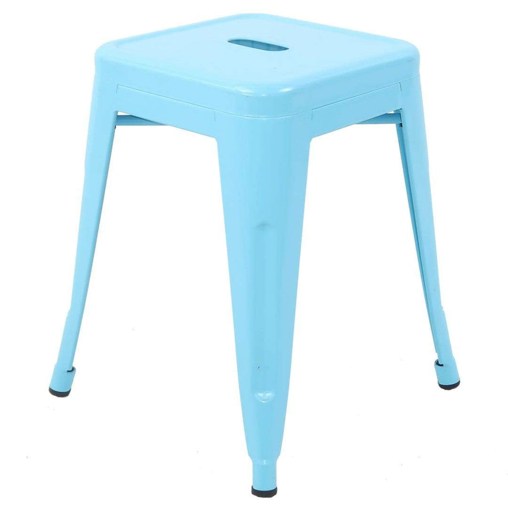 elevenpast Blue Replica Tolix Stool