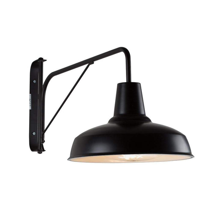 elevenpast Burano Wall Light Black