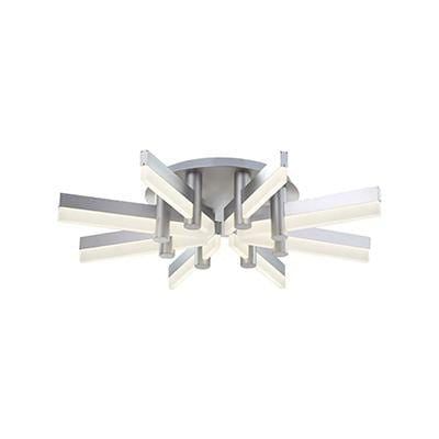 elevenpast Ceiling Light Star Silver LED