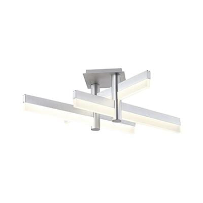 elevenpast Ceiling Light Tri Silver LED