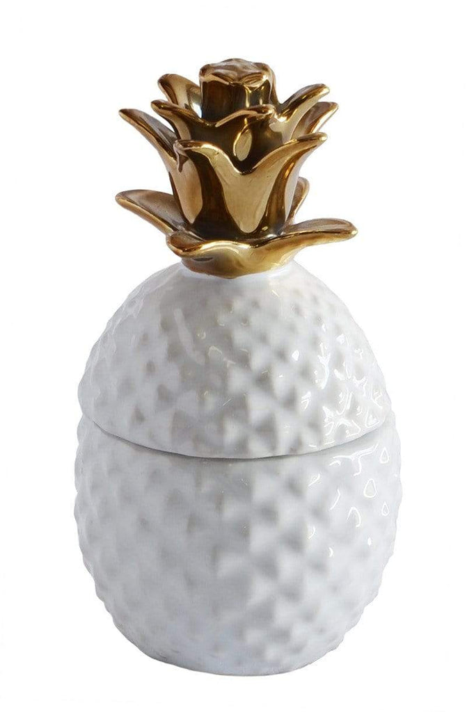elevenpast Ceramics Small Pineapple Jar
