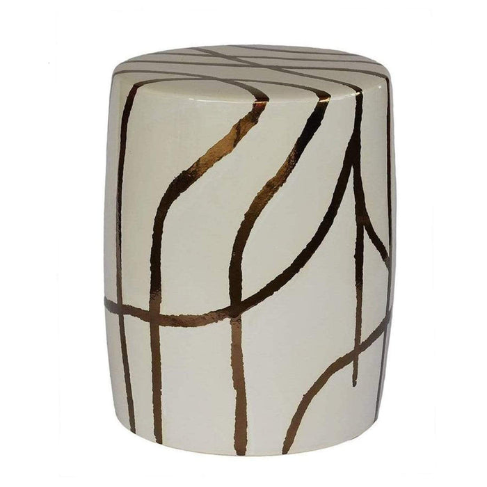 elevenpast Ceramics Willow Garden Stool