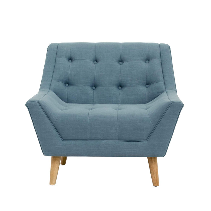 elevenpast Chairs Arm Chair Duck Egg Blue