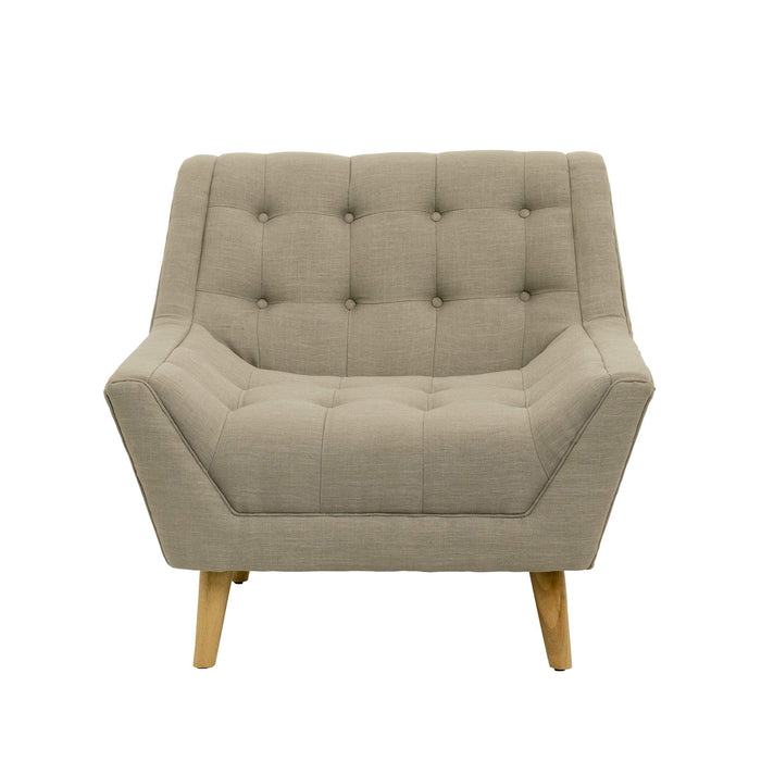 elevenpast Chairs Arm Chair Pebble Grey